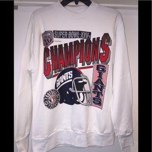 Other - Vintage 1990 New York Giants Super Bowl Sweatshirt